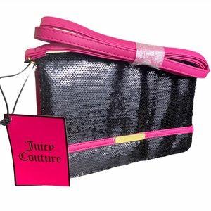 Y2K vintage Juicy Couture sequin bag